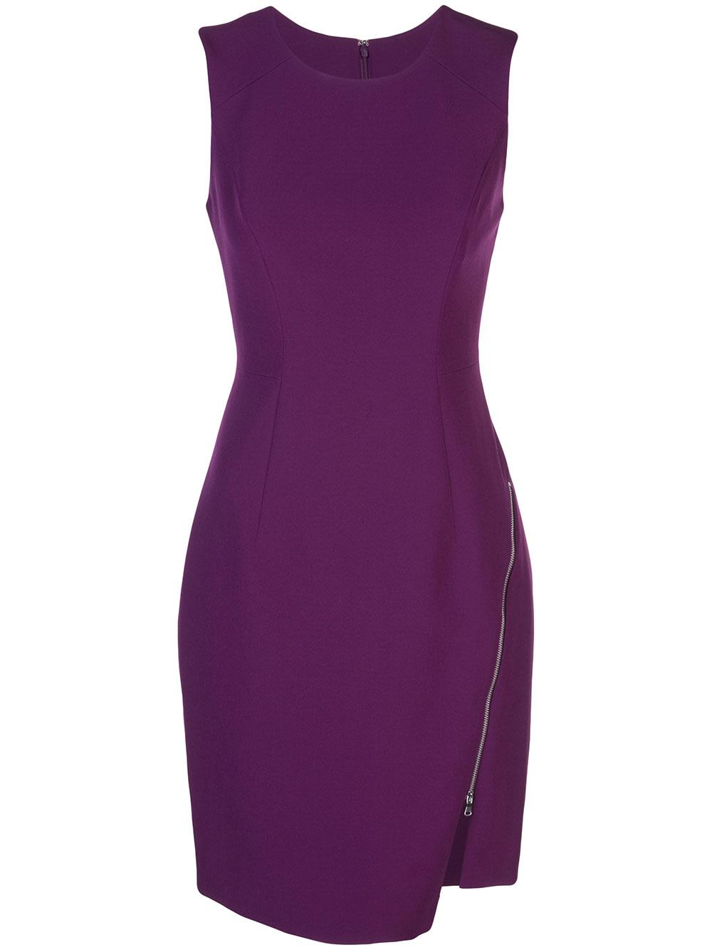 Sleeveless Zipper Sheath Item # 224IC012891