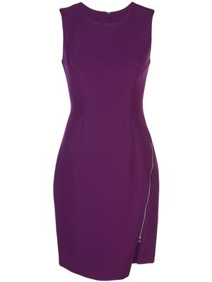Sleeveless Zipper Sheath
