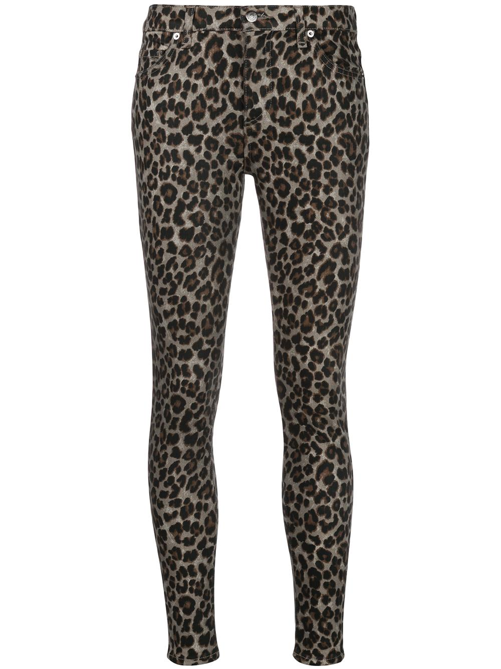 Brooke Mid Rise Skinny With Button Fly