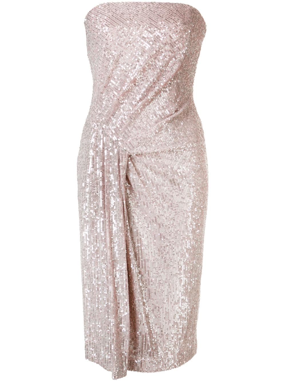 Domino Sequin Cocktail Dress