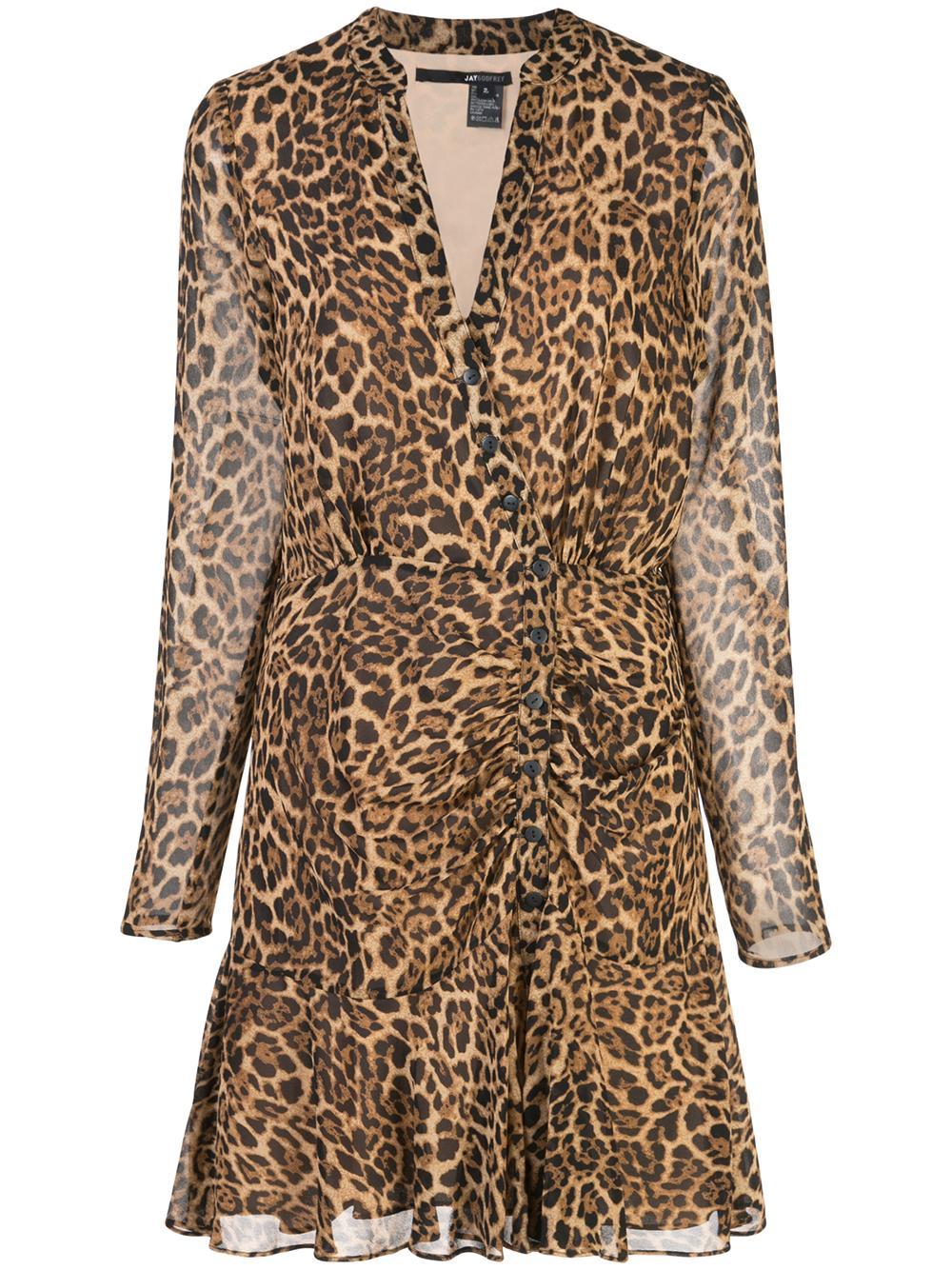 Kirk Long Sleeve Button Front Mini Dress Item # 117322