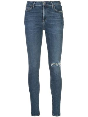 Rocket Distressed Full Length Skinny