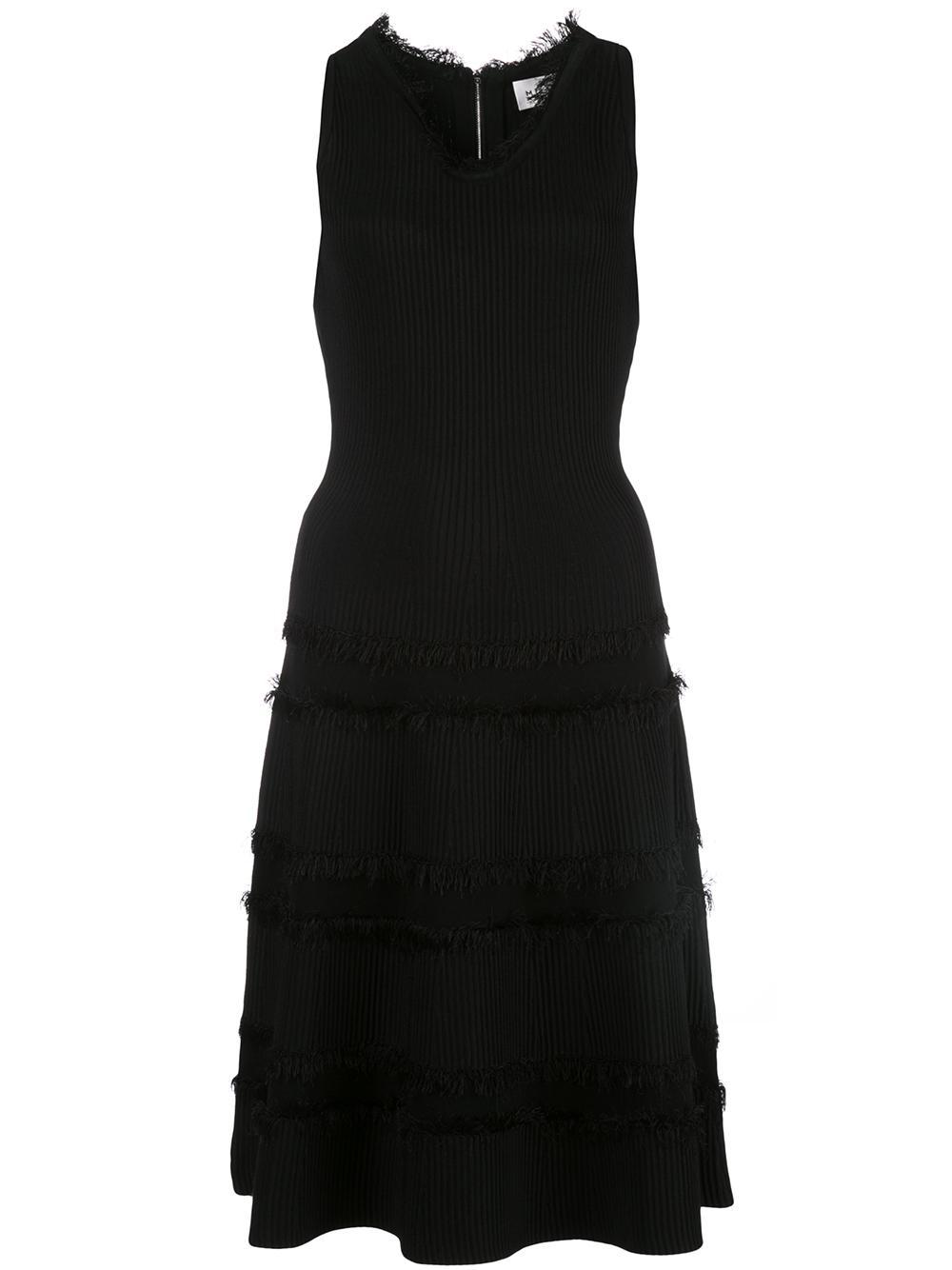 Cut Fringe Fit And Flare Dress Item # 224AK120357