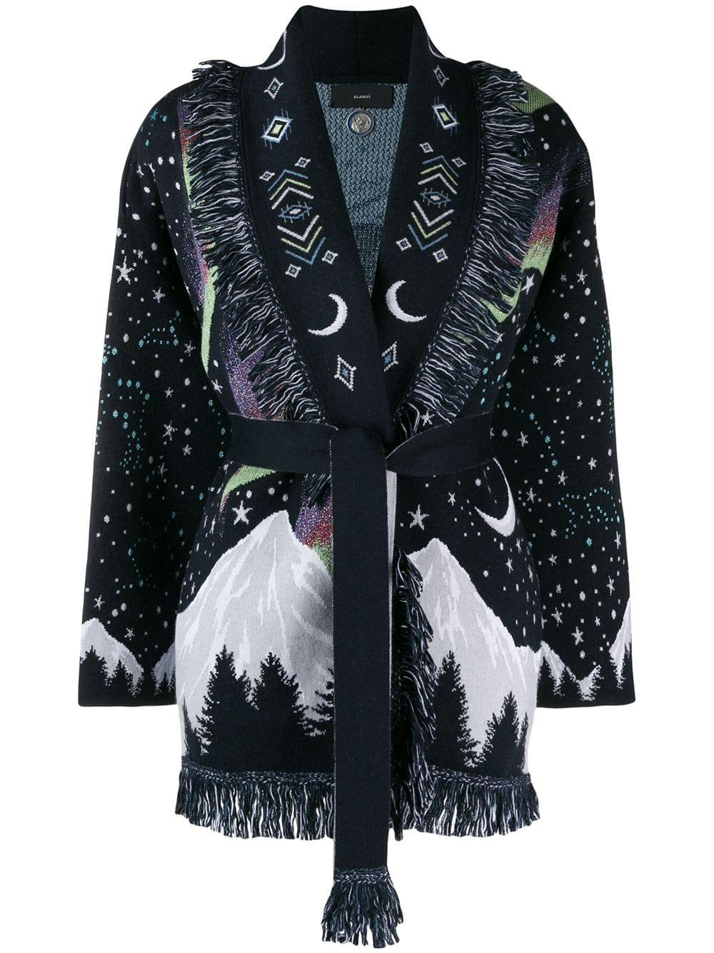Circle of Life Jacquard Cardigan