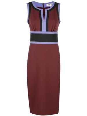 Maribel Color block Sheath Dress