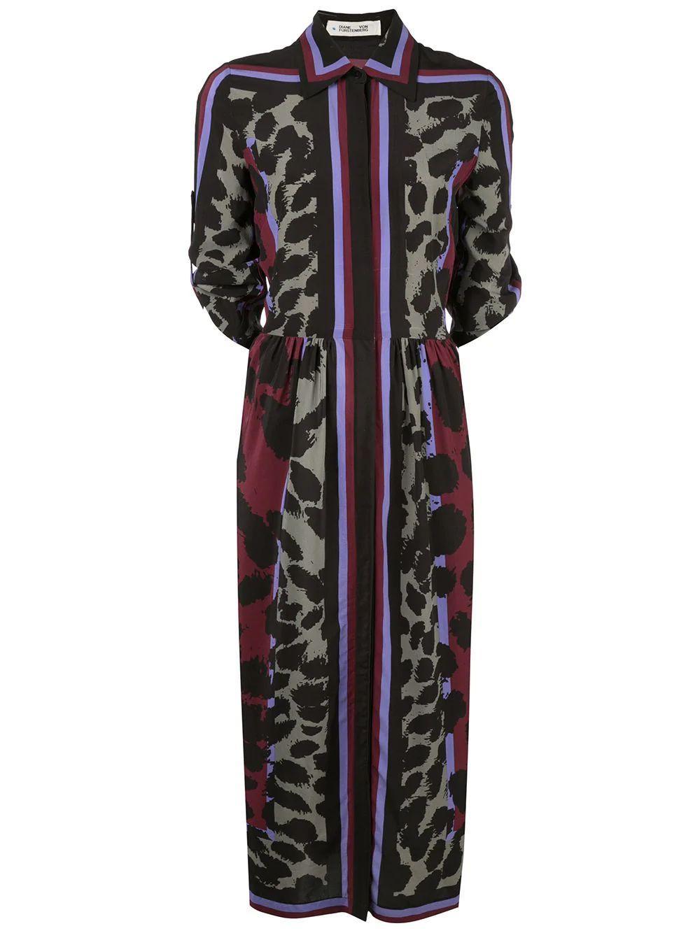 Sogol Printed Multi Dress