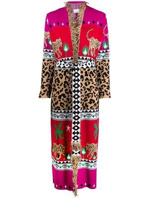 Leopar Dress Duster