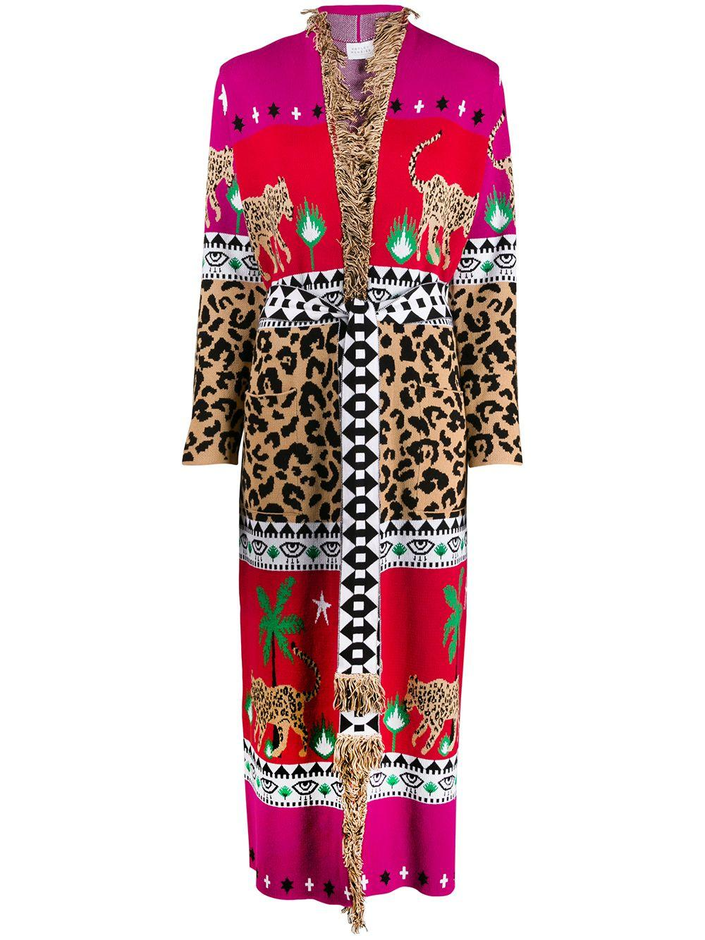 Leopar Dress Duster
