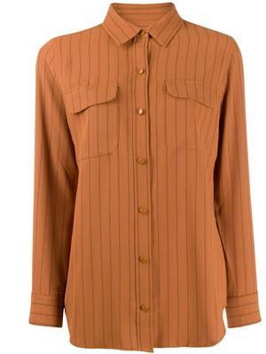 Slim Signature Pinstripe Buttondown Shirt
