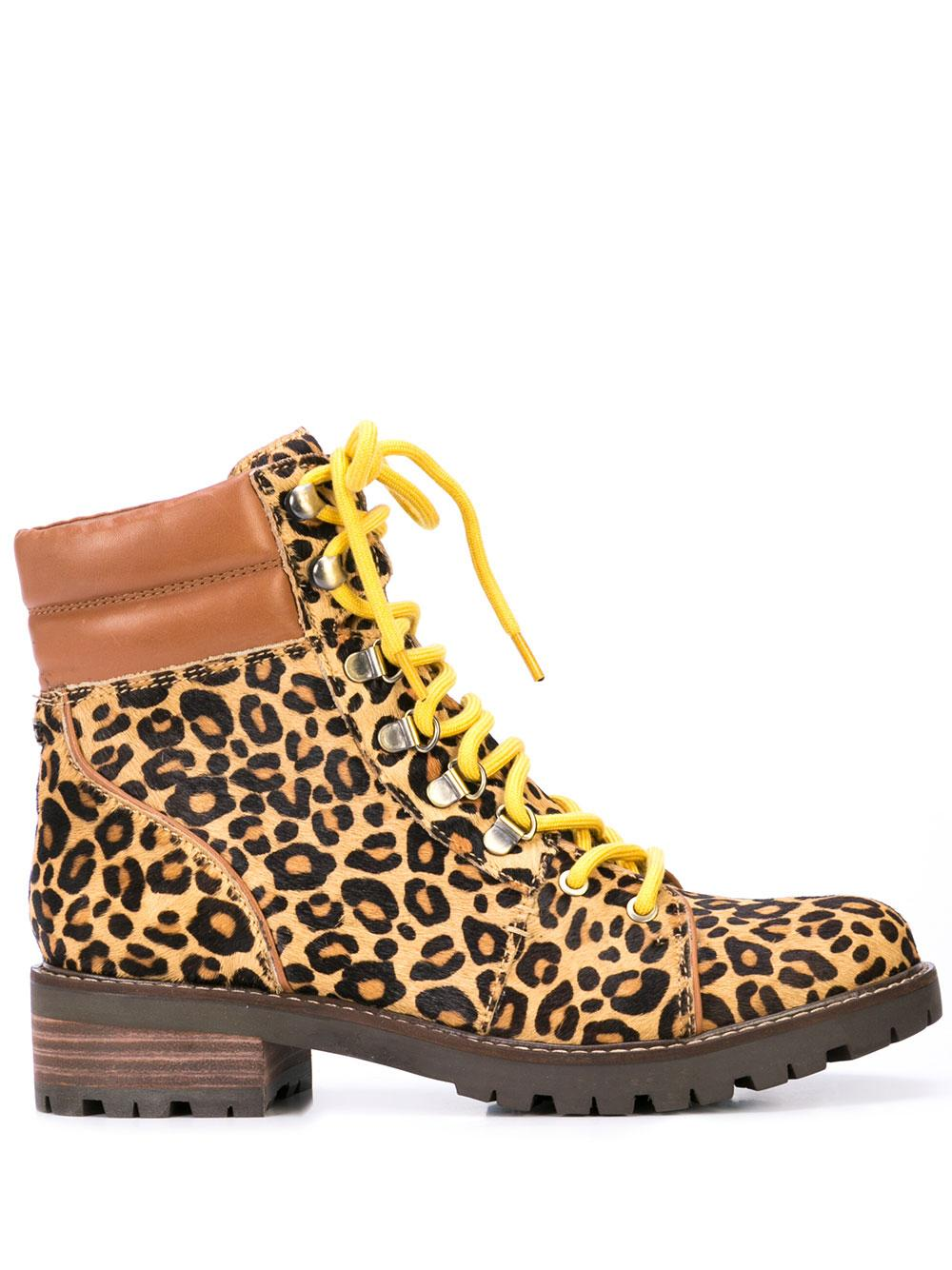 Flat Laceup Hiker Boot