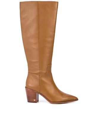 Tall Block Heel Boots
