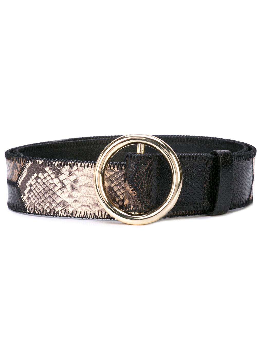 O Ring Patchwork Belt