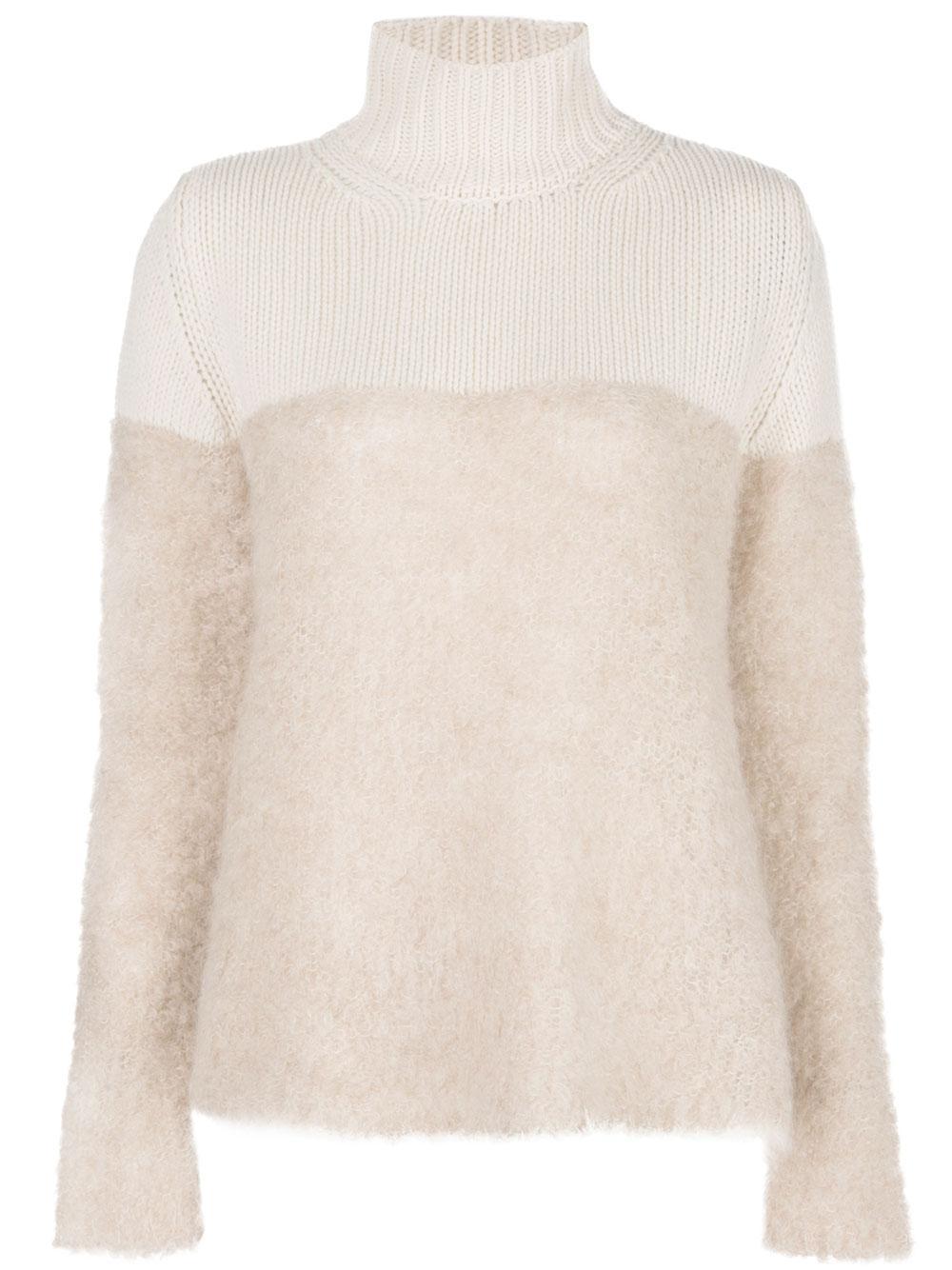 Cashmere Merino Wool Turtleneck Item # K057-FPU156