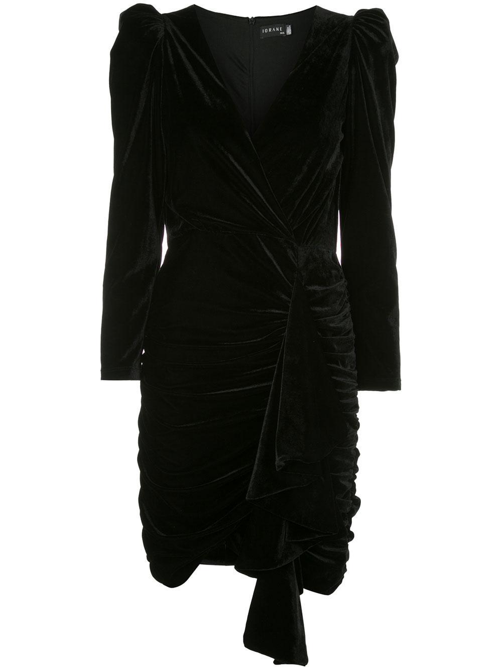 Velvet Short Dress Item # E1341