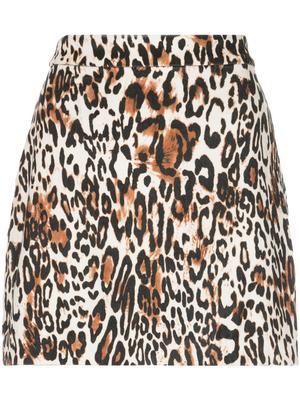 Modern Leopard Mini Skirt