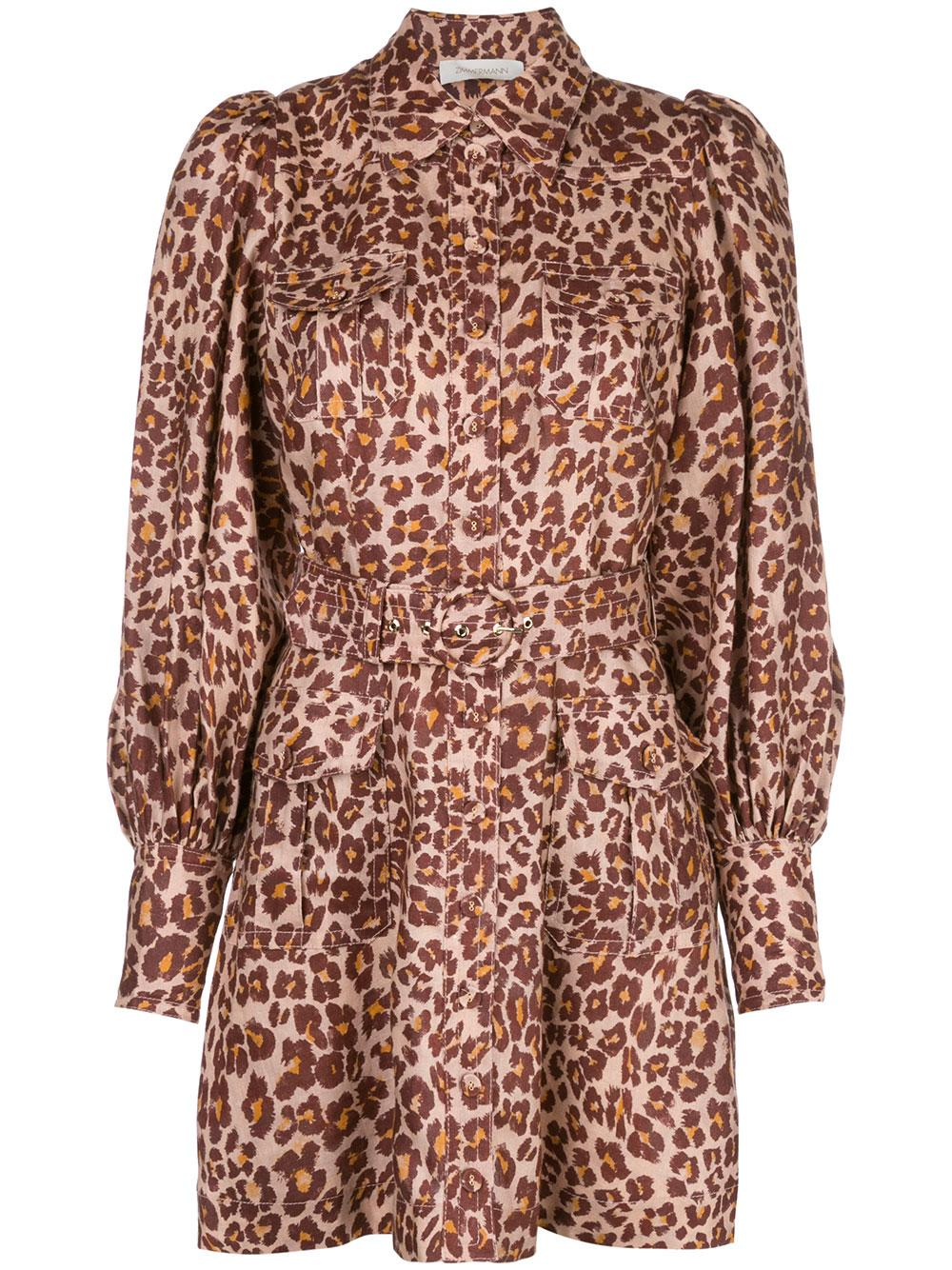 Resistance Safari Shirt Dress