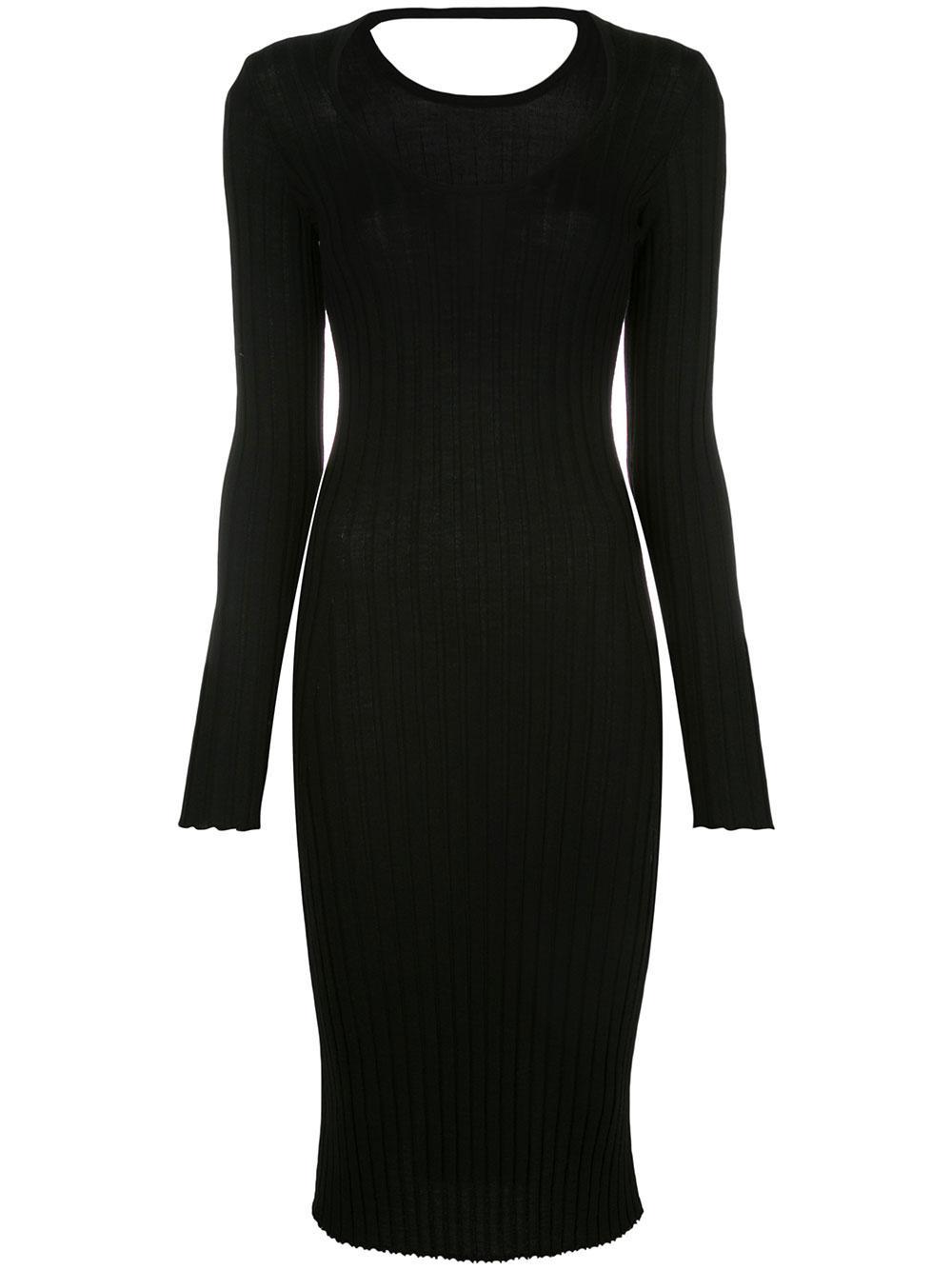 Long Sleeve Knit Midi Dress Item # 1101025