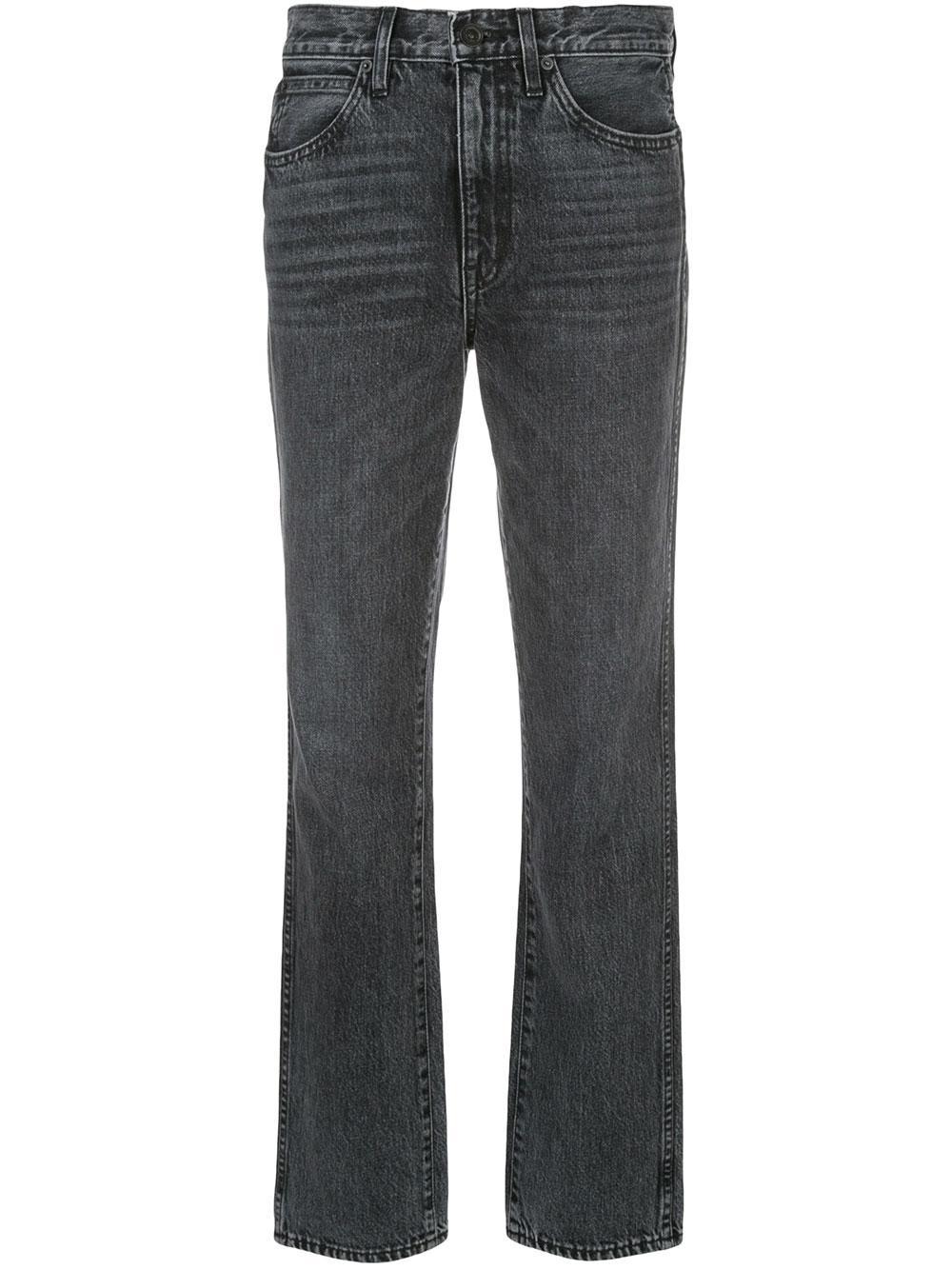 Stella Mid Rise Slim Straight Leg Item # STEJ707UOR