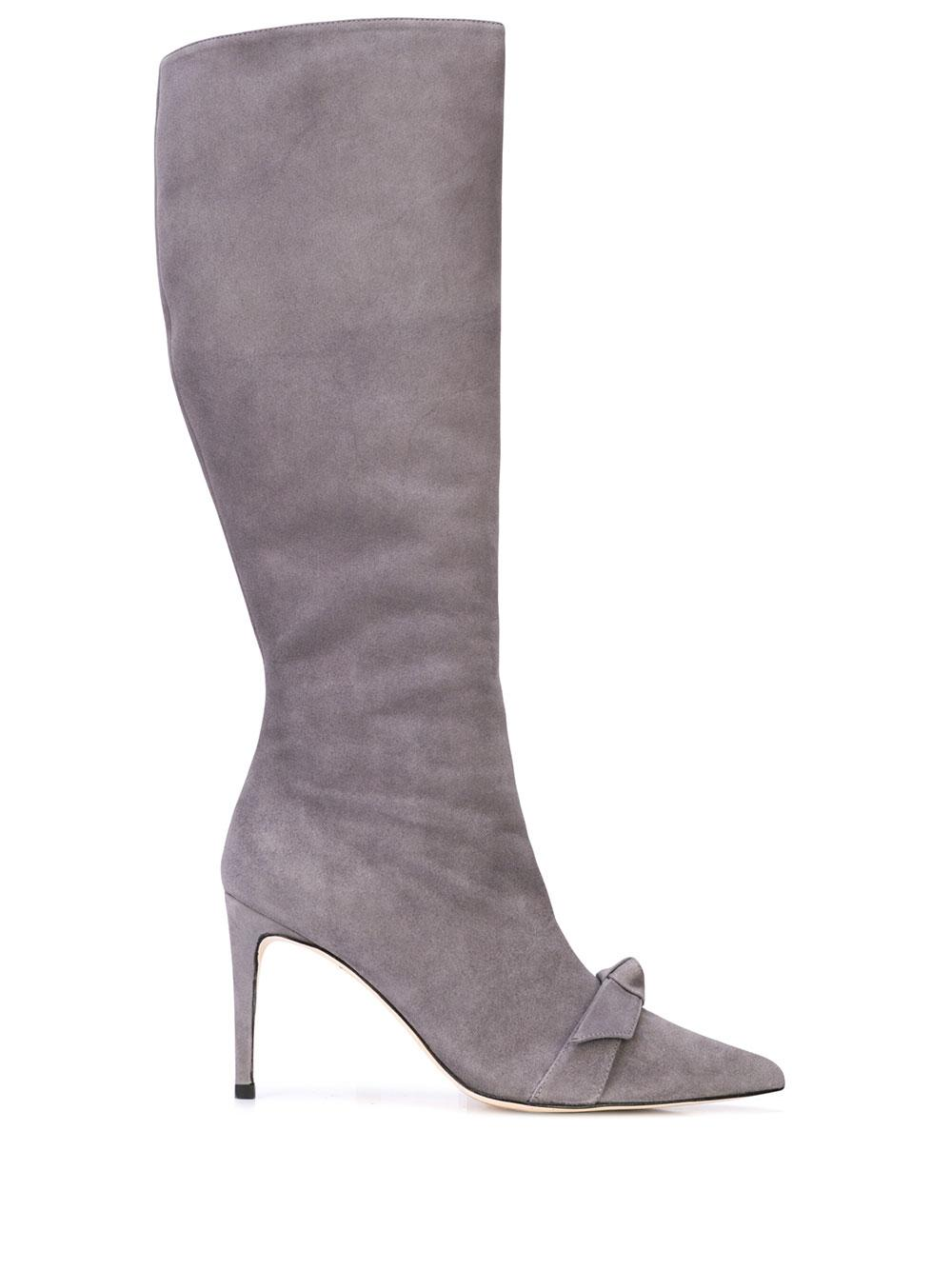 Lydia 85mm Knee High Suede Boot