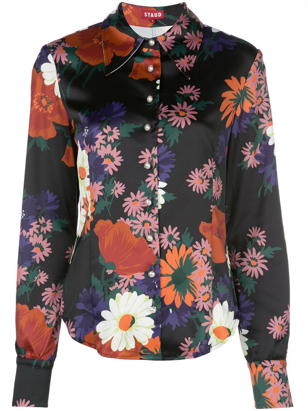 Hendrix Floral Top Item # 131-3102-BFLR