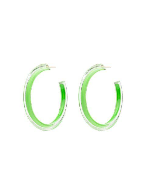 Medium Jelly Hoops