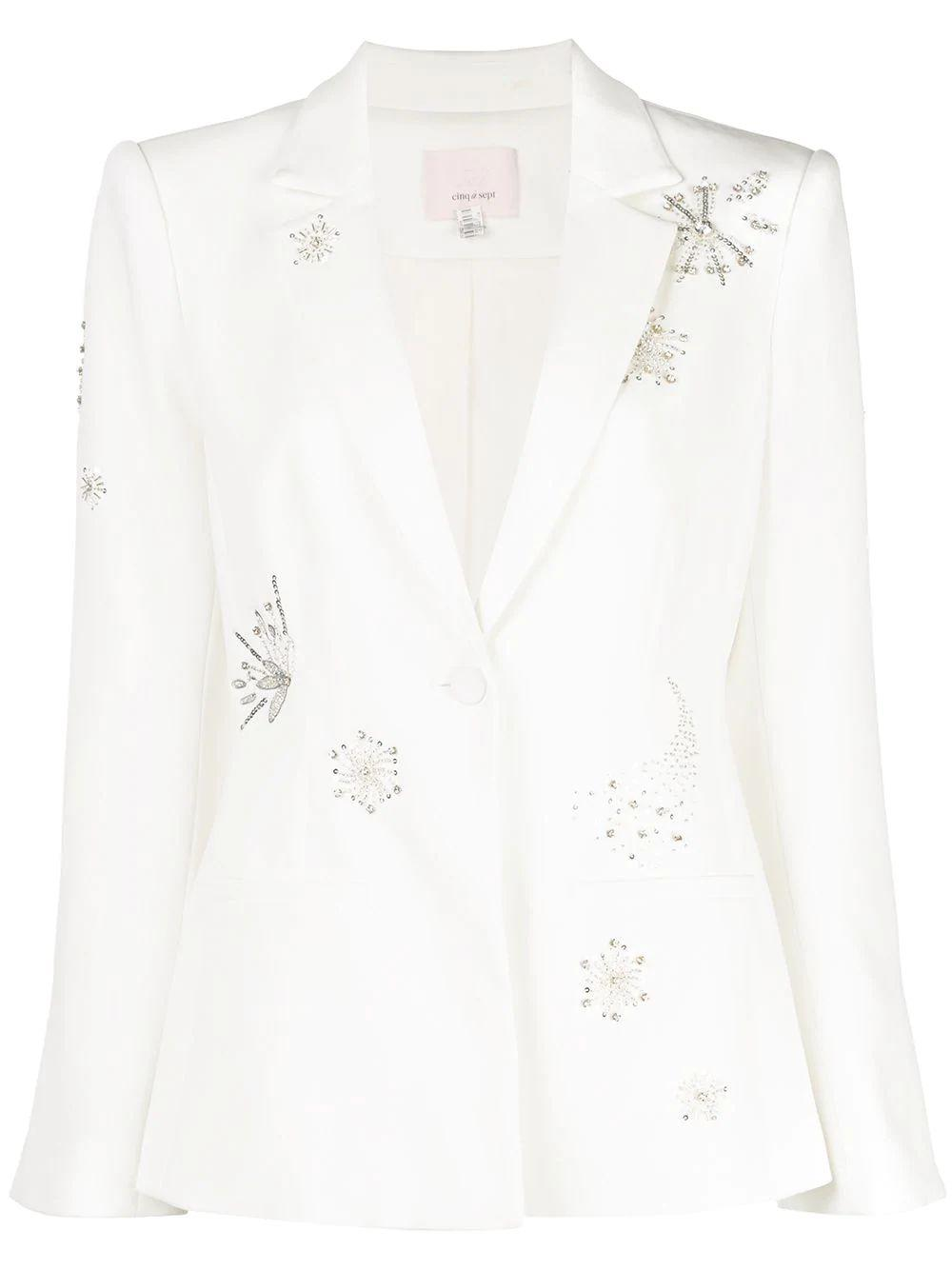 Shooting Star Embellished Blazer