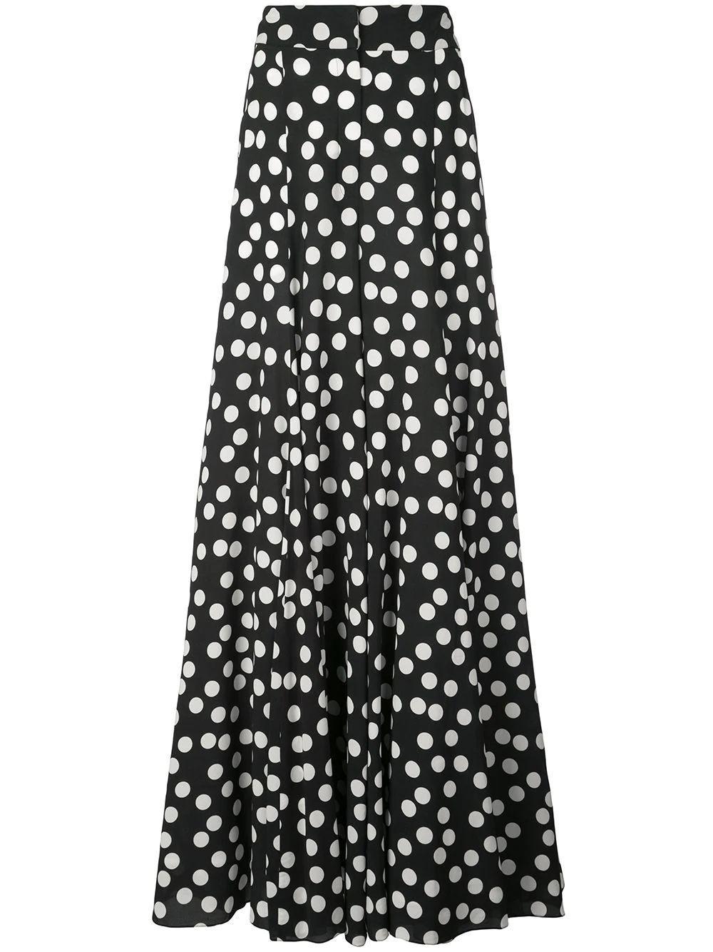 Extra Wide Leg Polka Dot Pant Item # R2011N400FDR