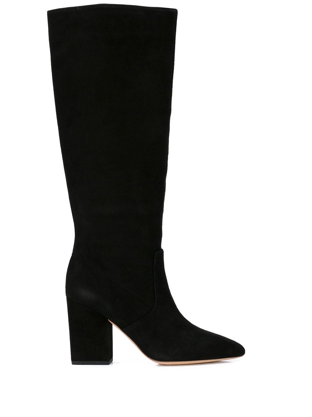 Tall Boot With Chunky Heel