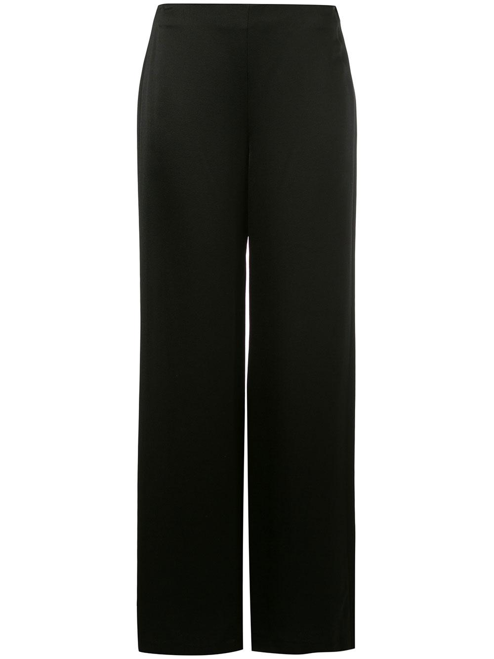 Satin Clean Wide Leg Pant