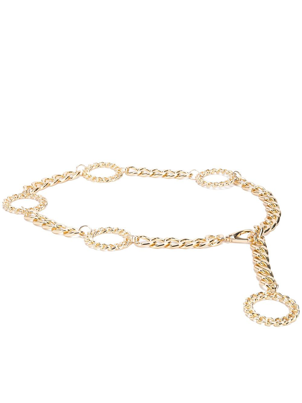 Margaux Circle Chain Belt