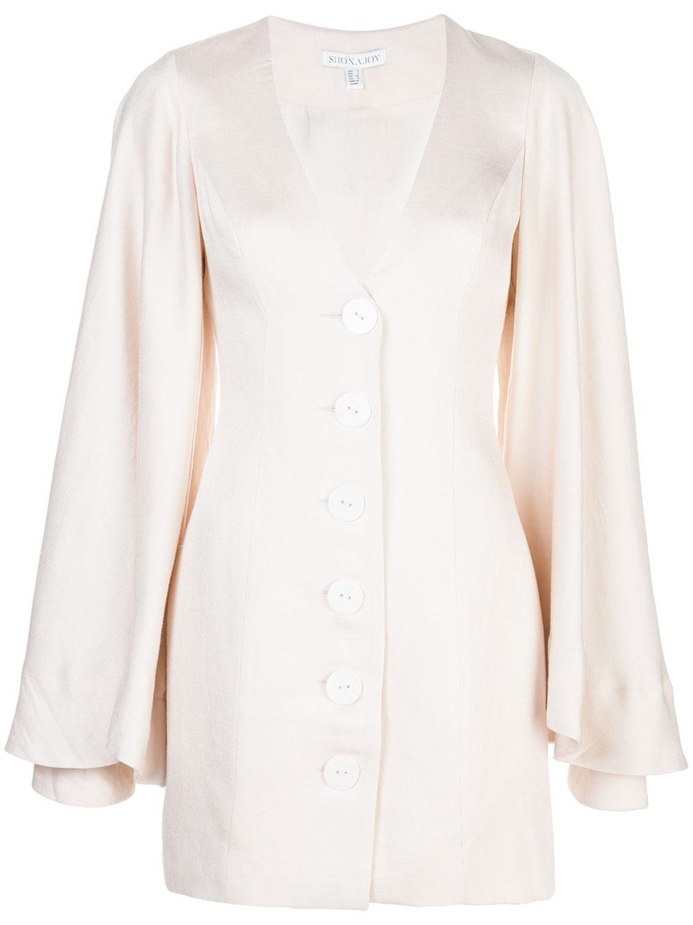 Wren Circle Sleeve Tailored Mini Dress Item # SJ4624