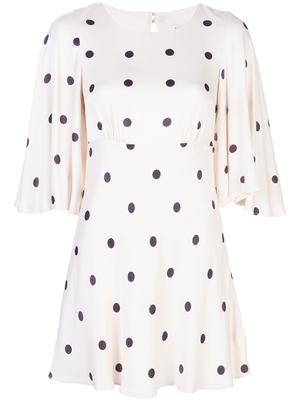 Shelby Circle Sleeve Mini Dress