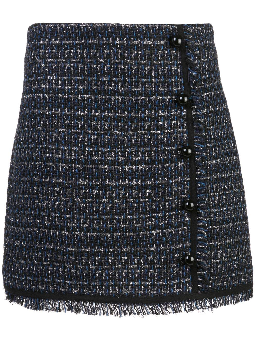 Mirabelle Short Tweed Skirt Item # 1910TW0203271