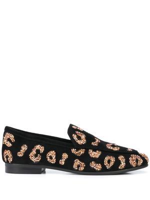 Leopard Glitter Loafer