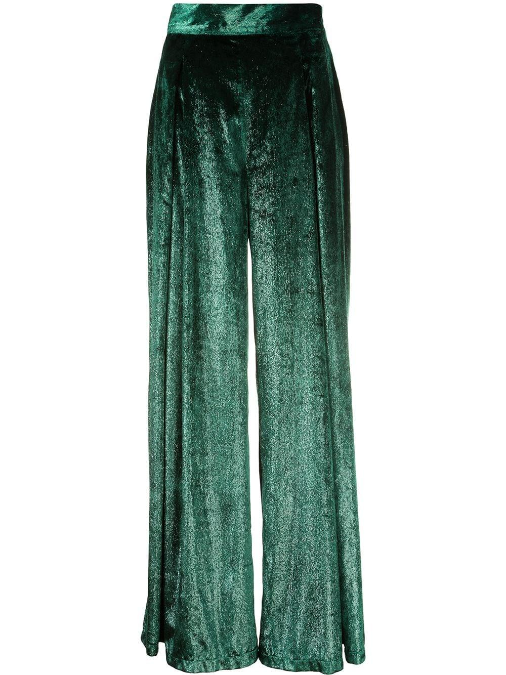 Liquid Velvet Wide Leg Pant Item # CAL292US