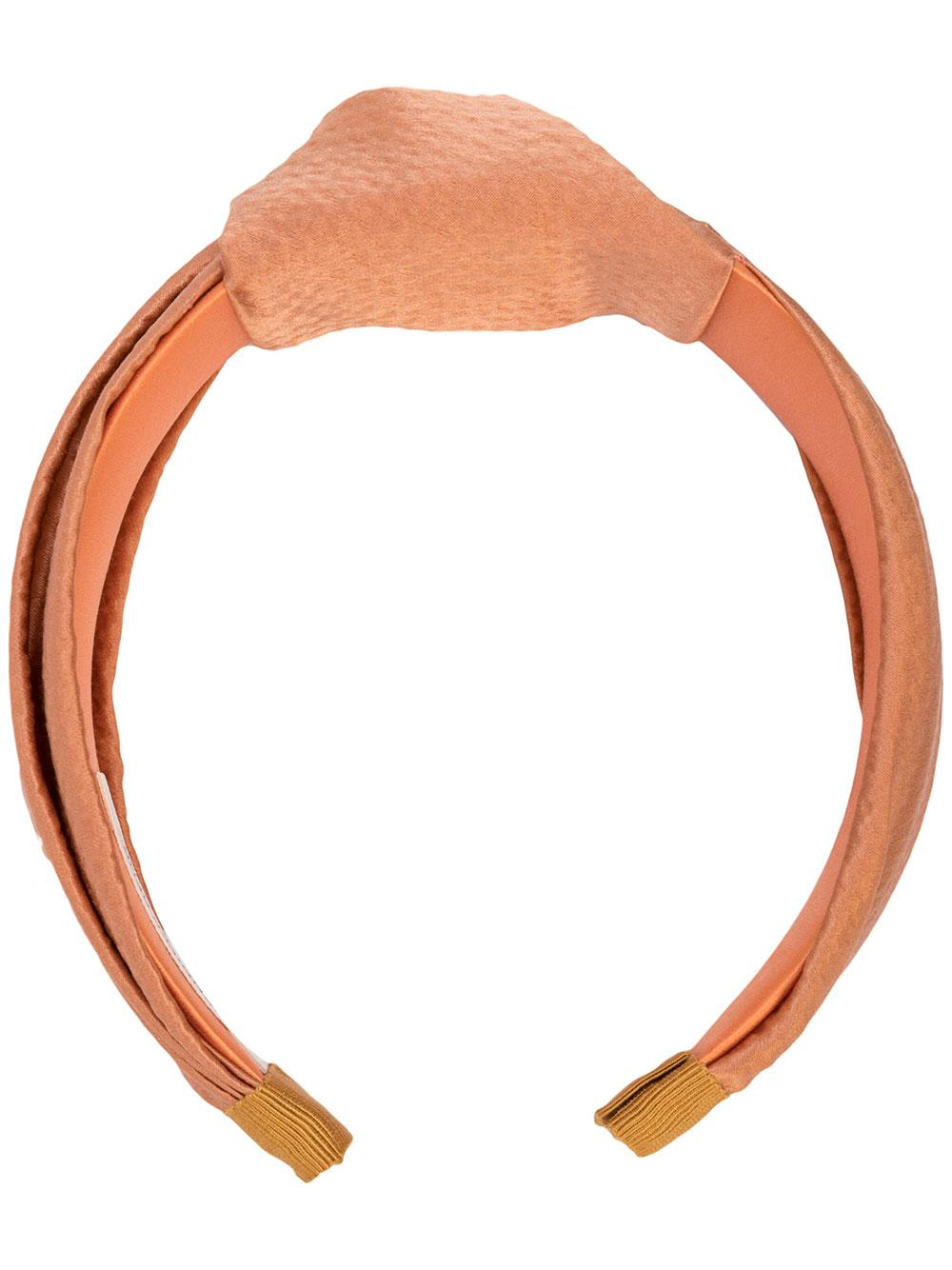 Samaya Headband In Hammered Silk