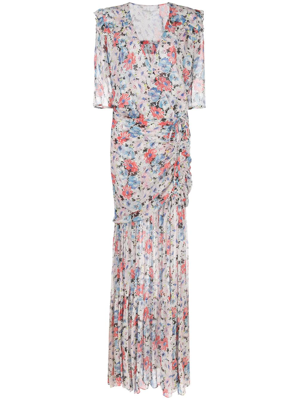 Mick Elbow Sleeve Floral Maxi Dress