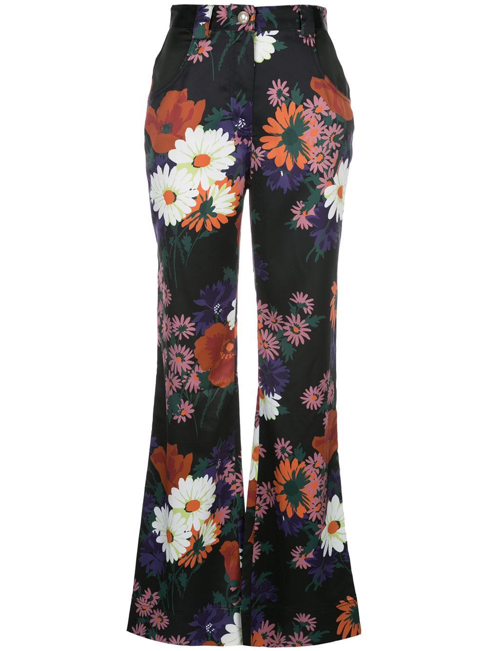Austin Floral Pant Item # 131-6050-BFLR