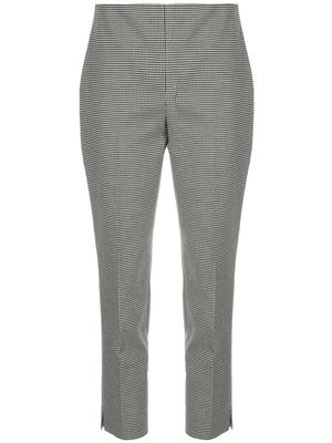 Houndstooth Slim Straight Pant