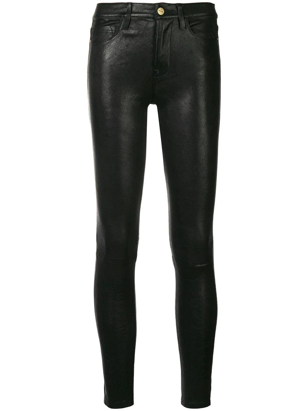 Le High Skinny Leather