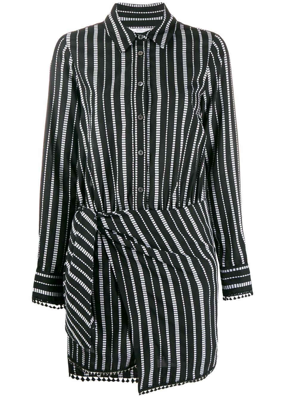 Eunice Striped Shirt Dress