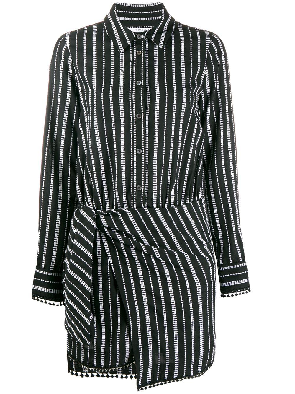 Eunice Striped Shirt Dress