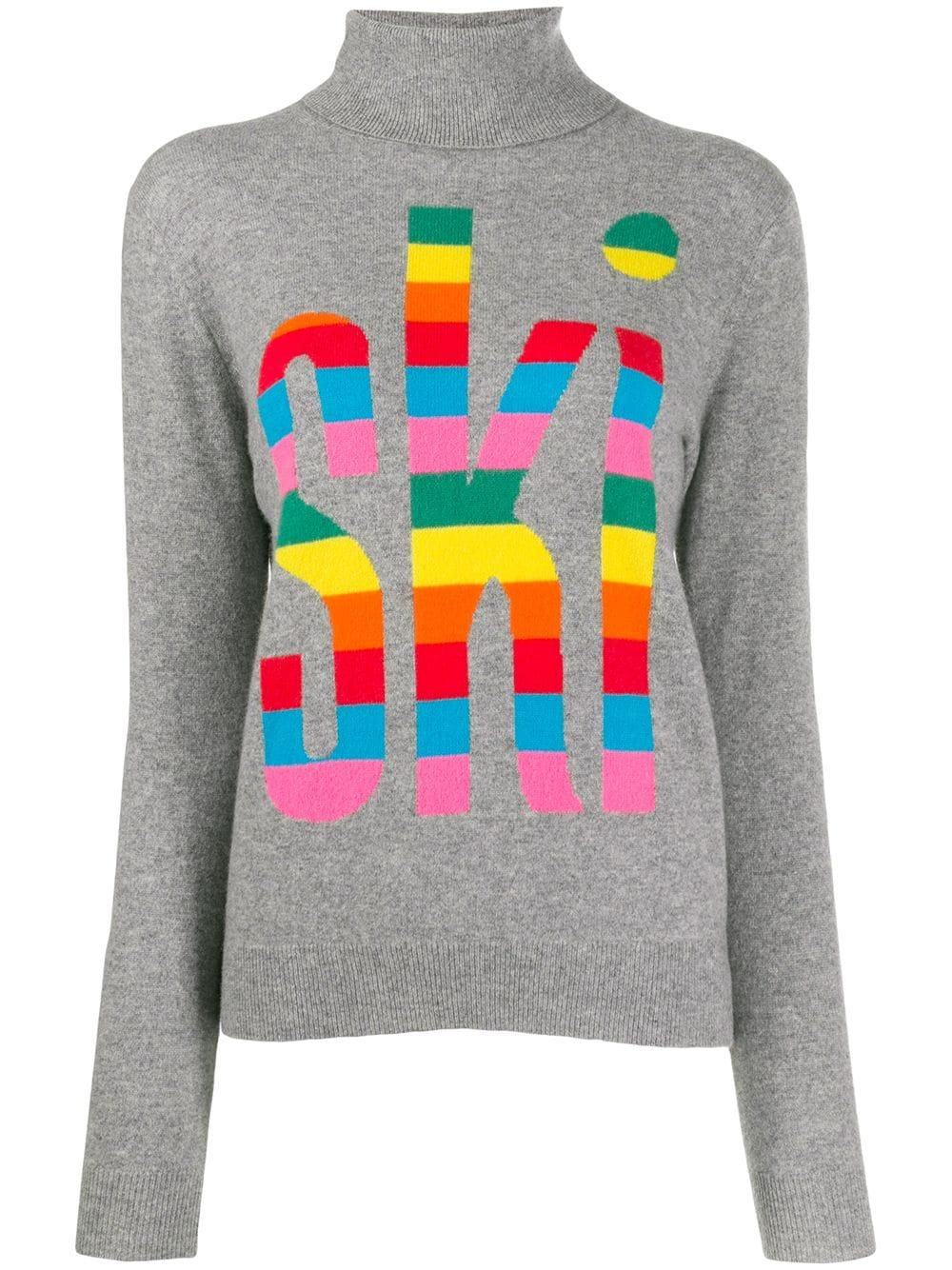 Rainbow Ski Sweater