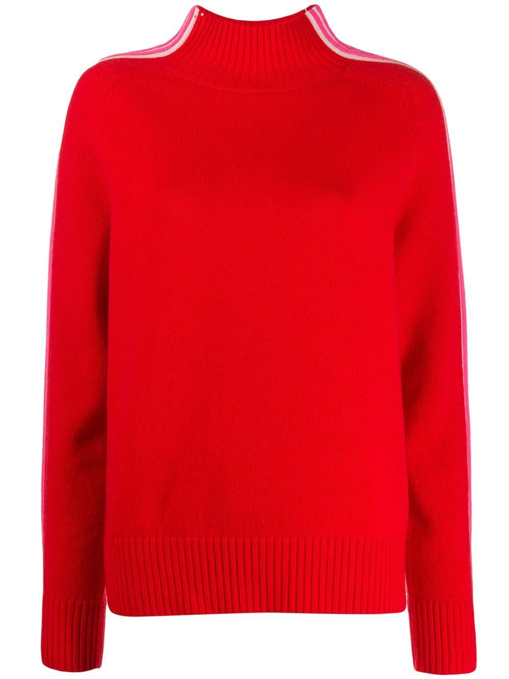 Ripple Turtleneck Sweater Item # KQ103