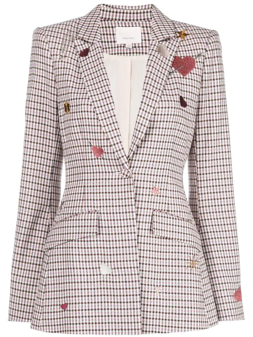 Estelle Check Blazer