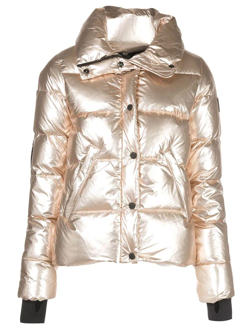 Isabel Shiny Down Quilted Puffer