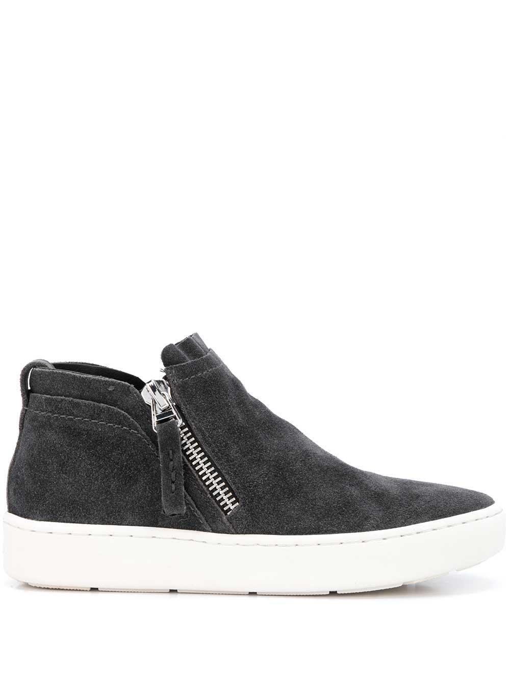 Suede Zip Sneaker
