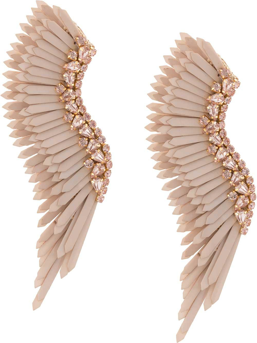 Mega Madeline Wing Earrings Item # E275-876