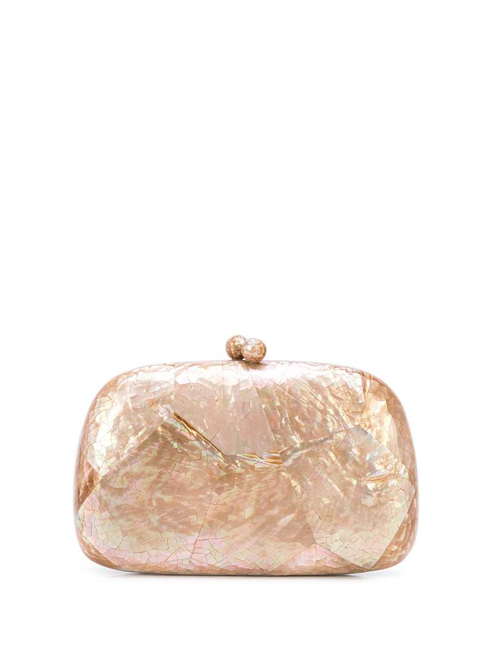 Greta Mother Of Pearl Clutch