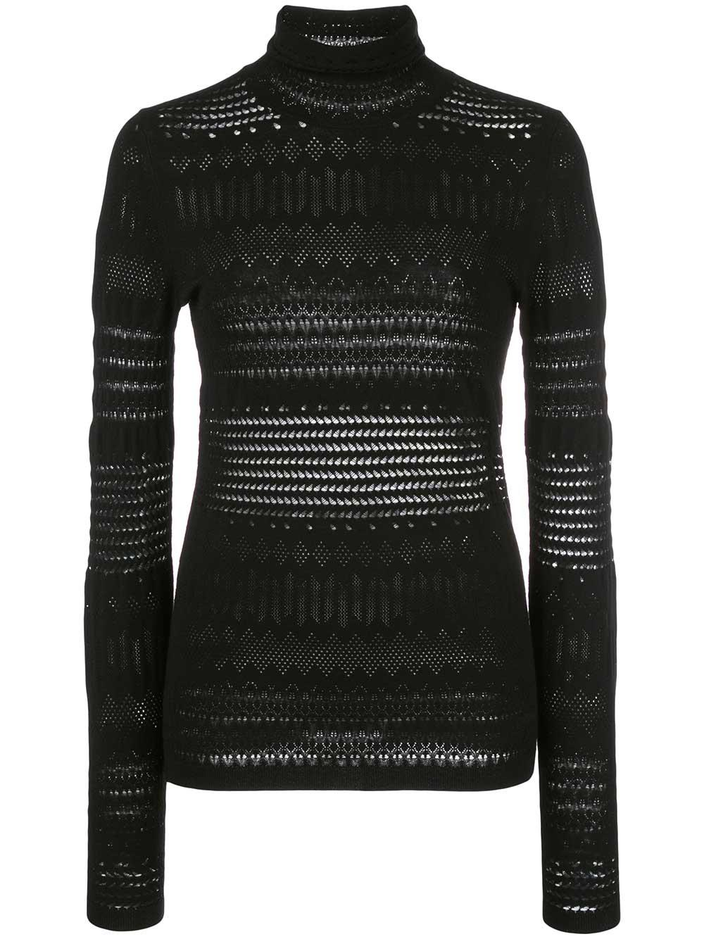Sleek Sophisticated Pullover Turtleneck